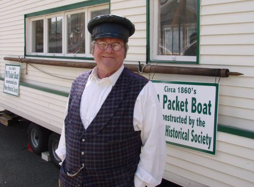 Captain Mick and the Packet Boat