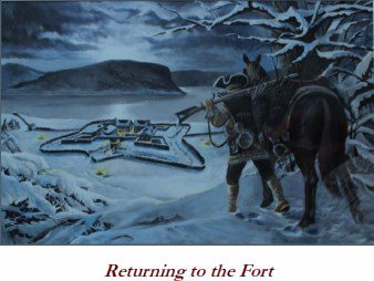 Returning to the Fort